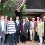 SPD-Bezirkstagsfraktion mit Gästen aus Kommunal-, Landes- und Bundespolitik