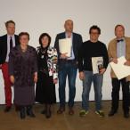 Christa Naaß und Gisela Niclas, Fraktionsvorsitzende der SPD-Bezirkstagsfraktion, gratulierten den Ausgezeichneten aus der Stadt Erlangen