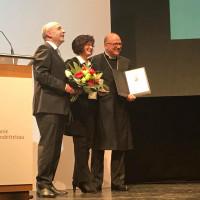 Jahresempfang der Diakonie Neuendettelsau 2018 - Christa Naaß erhält Löhe-Medaille
