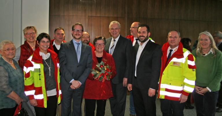 Verleihung des Bundesverdienstkreuzes an Gisela Niclas am 20.12.2017